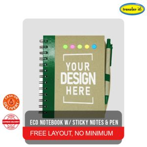 NOTEBOOK w/ STICKY NOTES AND PEN Thumbnail